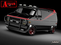 a-team gmc van x