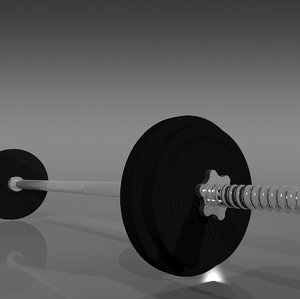 3d york barbell weights model