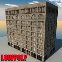 3d building s model