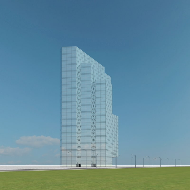 3d new skyscraper 55