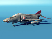 F4-2 Phantom Turkish Aircraft
