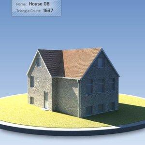 3d house scandinavian