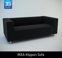 KLIPPAN Two-seat sofa
