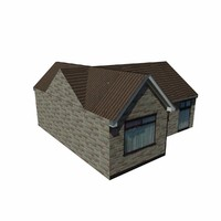 Lowpoly English House 1