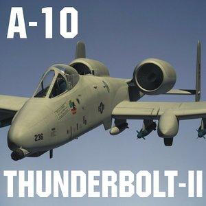 3d a-10 ii model
