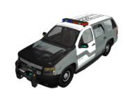 police tahoe 3d model