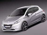 peugeot 208 2013 hatchback max