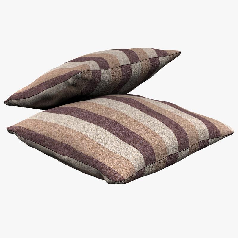 3d pillow v6 model