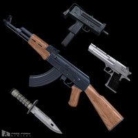 Modern Weapons Pack