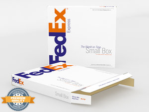 3d small express box