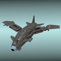3d model valkyr original space