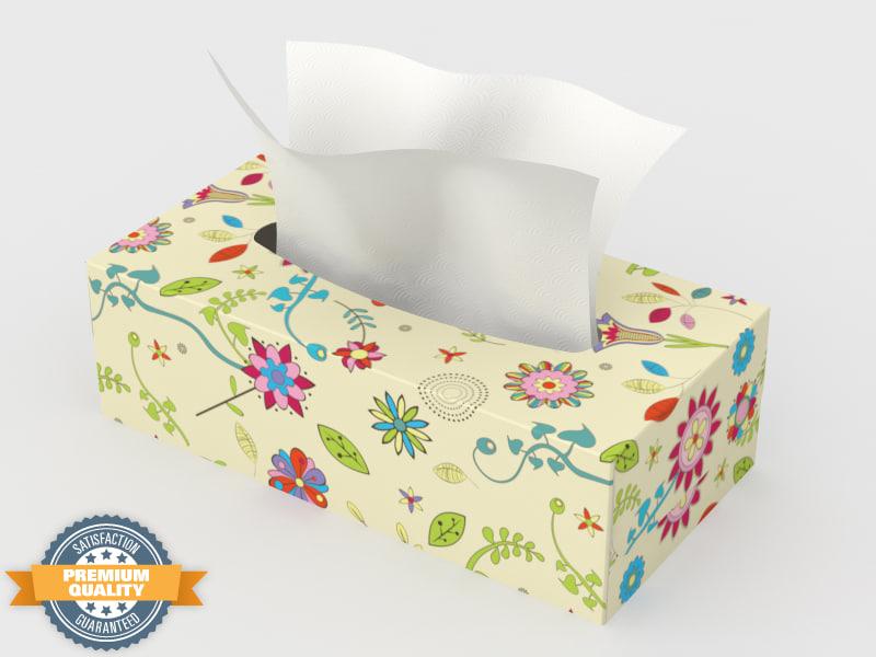 box tissues 3d model