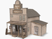 western funeral home 3d max