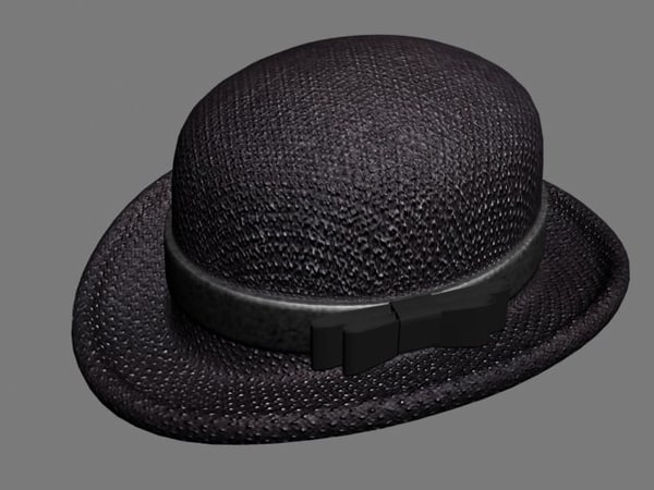 3d model of hat accessory