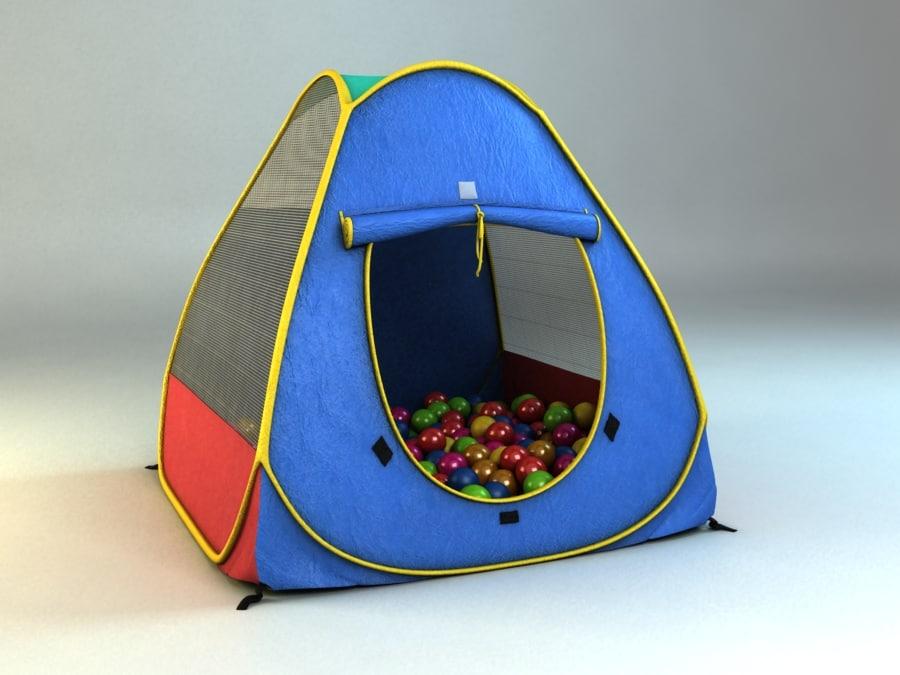 child tent magic 3d max