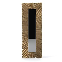 Christopher Guy  Long Ruffle 50-2836 Tall Wall Mirror