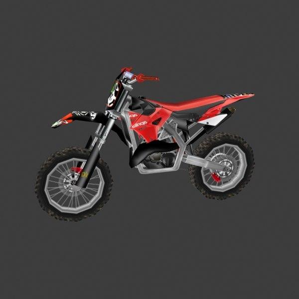 3d dirt bike model