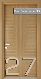 3ds door architectural