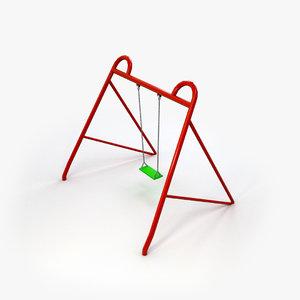 swing 3d model