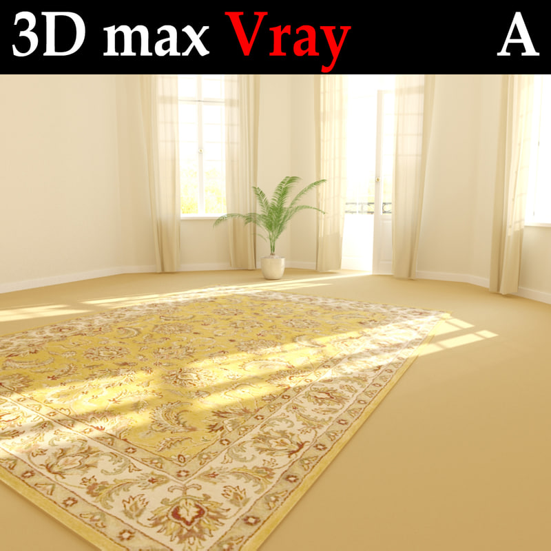 3d rug carpet room