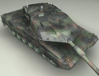 Leopard2a6 German tank_V2