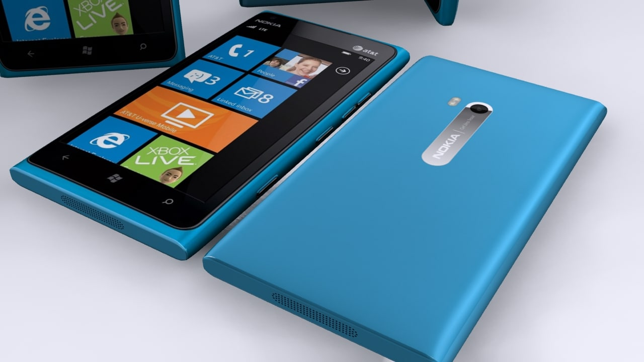 nokia lumia 900 3d 3ds