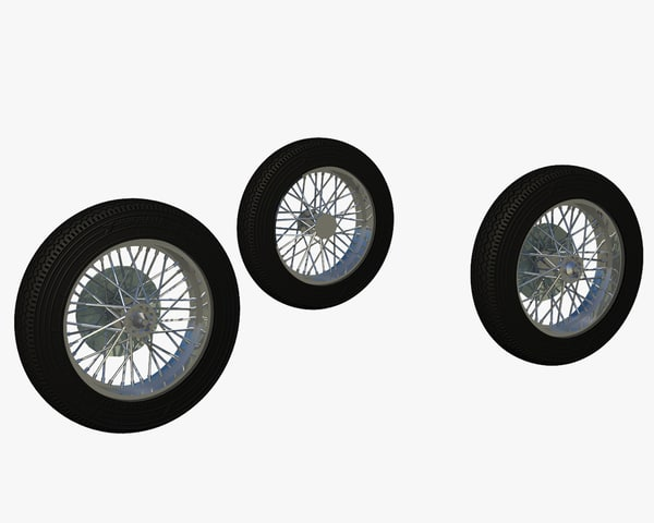 3d motor cycle rubber wheel