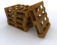 3d model pallet