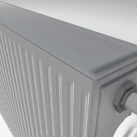 radiator heating 08 low poly