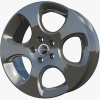 c4d wheel rim sport