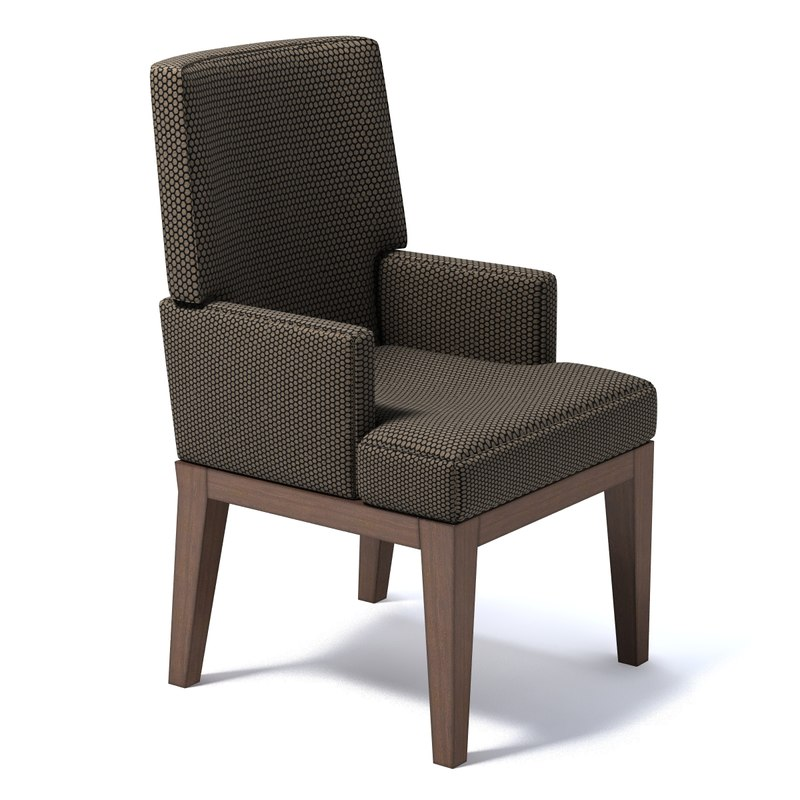 3d classical chair model