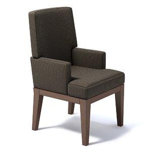 3d classical chair model