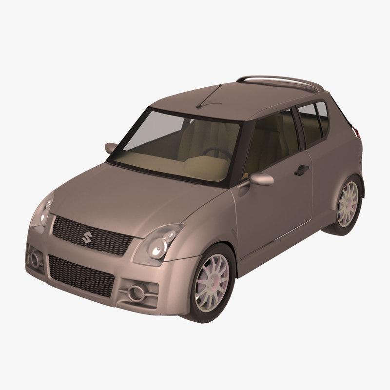 3d suzuki swift model