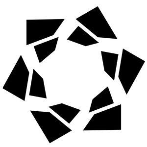 kaleidoscope ajax loader 3d dwg