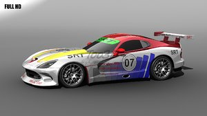 3d model gt viper