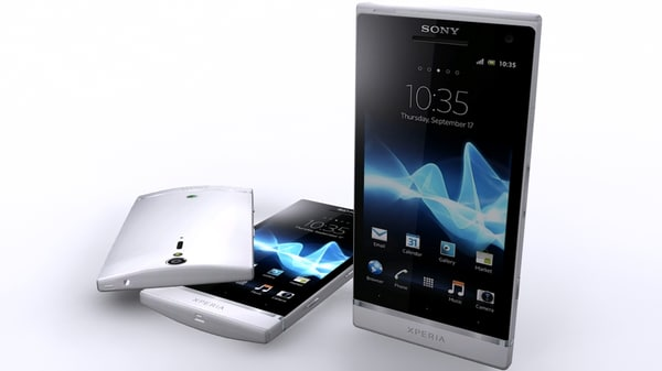 3d model sony xperia sl