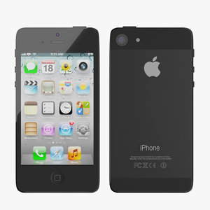 3d 3ds iphone 5 phone