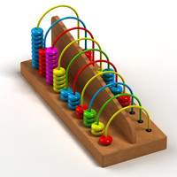 3d model abacus 03
