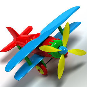 toy plane 3ds
