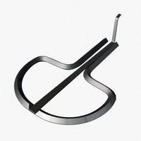jaw harp 3d 3ds