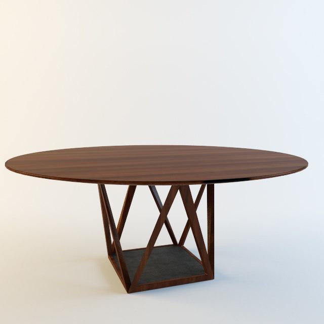 3ds max walter knoll tobu table