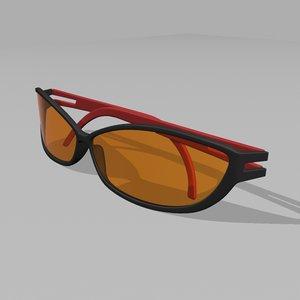 3d model sunglasses sun glass