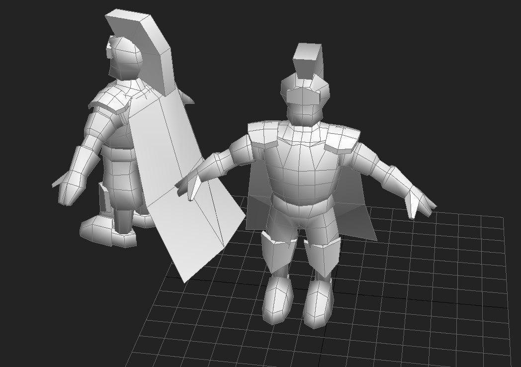 knight obj