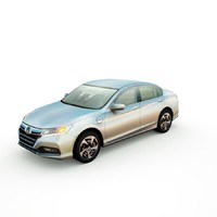 3d honda accord phev sedan