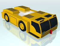vehicle airport 3d 3ds