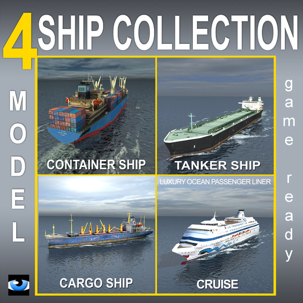 cargo container ship lwo