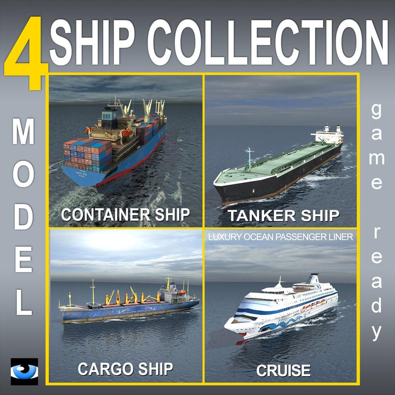 cargo container ship lwo