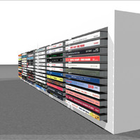 Compact Disc Holder With CDs: C4D Format