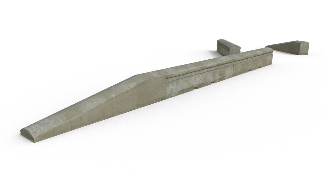 fbx concrete barriers