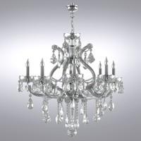 3d model maria chandelier